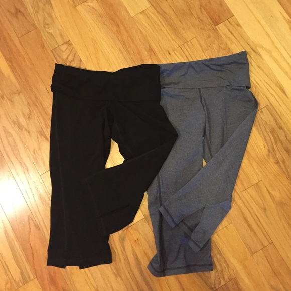 76% off Old Navy Pants - Two Pairs of Old Navy Yoga Capris from ...