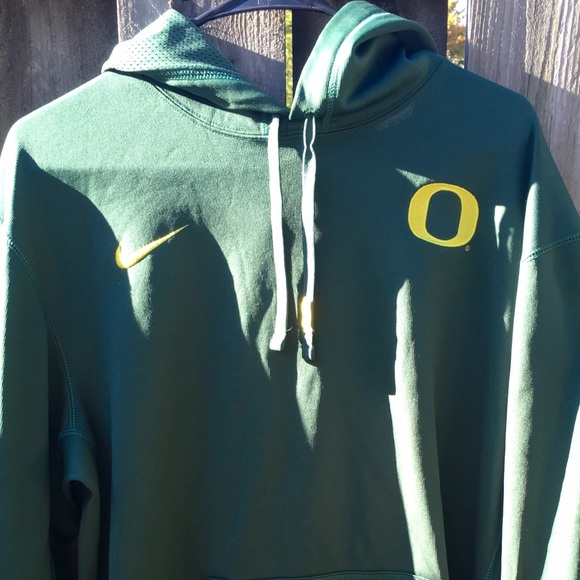 9229e513 Nike Shirts | Therma Fit Oregon Ducks Hoody Green Mens L | Poshmark