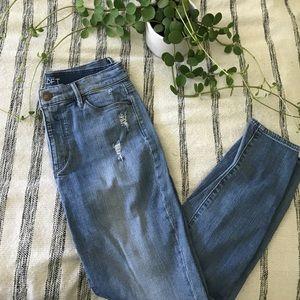 Loft Modern Skinny Ankle Jean