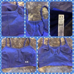 Under Armour Other - Like New Under Armour Padded Sports Bra Crop Top
