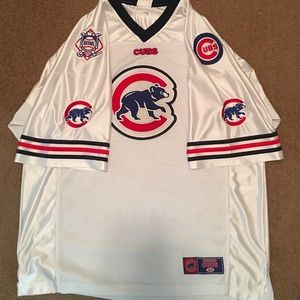 factory authentic 3d218 90a04 XL Chicago Cubs hockey style jersey