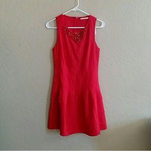 ModCloth Dresses & Skirts - Red jeweled dress
