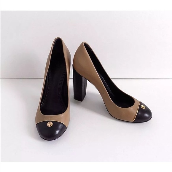 0f47e2f7fb Tory Burch Shoes | New W Tags Two Tone Pump Beigeblack | Poshmark