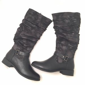 Pierre Dumas Shoes - Pierre Dumas Black Casual Riding Style Boot
