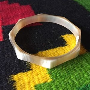 Anthropologie Jewelry - Horn Bangle