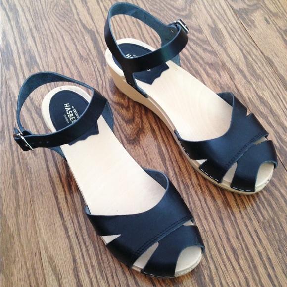 9bc40a1f6ce Swedish Hasbeens Suzanne Debutant Sandal - Size 38.  M 5800fe2f713fdeecda0266bd