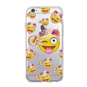 Accessories - EMOJI IPHONE 7 8 PLUS CASE NEW CUTE SILICONE