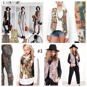 Tapestry Trend vest
