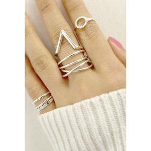 Classic Paper Doll Jewelry - 💥SALE💥Brin Metal Multi Ring Set