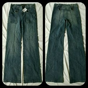 Goldsign Denim - Goldsign Luna Sailor Flare JEANS LOWEST price $