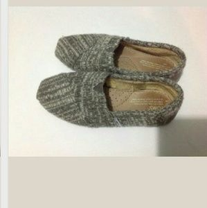 TOMS Shoes - Toms Dark And Light Gray Women Shoes,Size 6.5