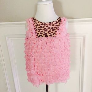 Sweet Baby Jess Pink/Leopard Dress
