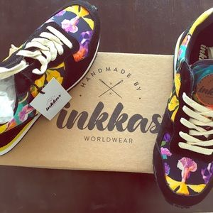 inkkas Shoes - Inkkas handmade floral joggers