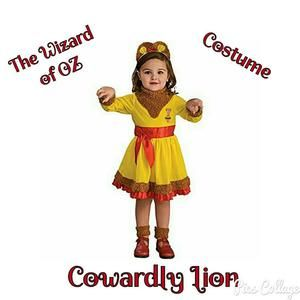 Other - 🌟NWT🌟🦁The Wizard of OZ Cowardly Lion Costume🦁