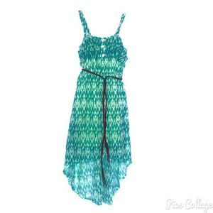 Xhilaration Other - NWOT-Girl's Xhilaration  Green High-Low Dress