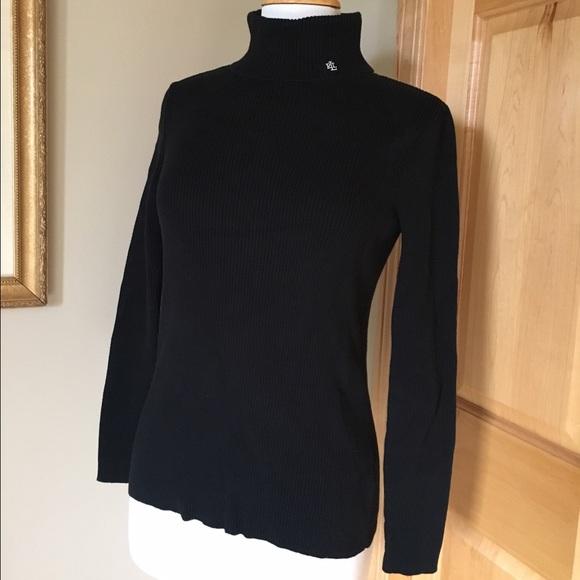 Lauren Ralph Lauren Sweaters Macys Ralph Lauren Turtle Neck Black
