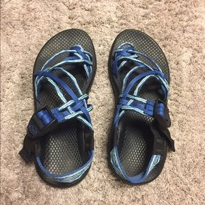 Chaco Sandals On Feet