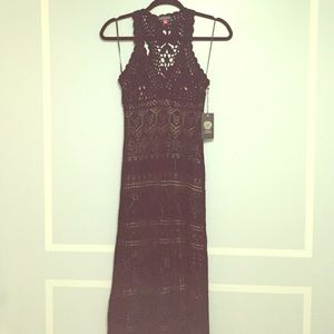 NWT Vince Camuto Crochet Dress