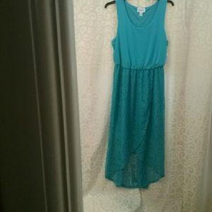 Simply emma high low white cream dress simply emma dress nwt women s