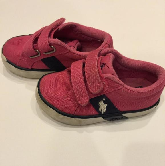 ralph pink navy polo shoes from s closet