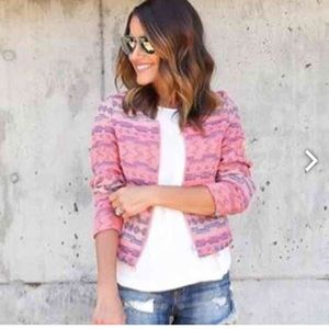Hot pink Southwestern Jacket 