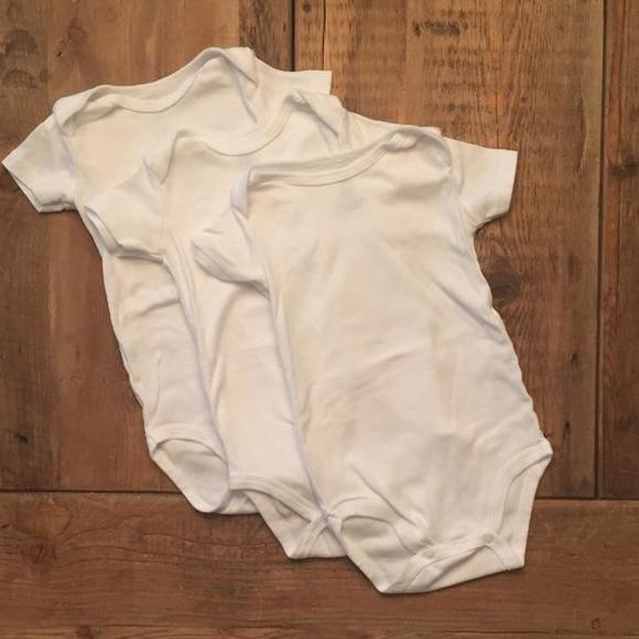 83afc1460 Just One You by Carter's Shirts & Tops   3pack Plain White Onesies ...