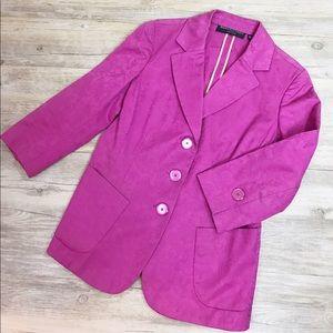 Dana Buchman Jackets & Blazers - Vintage Dana Buchman floral blazer Sz 12P