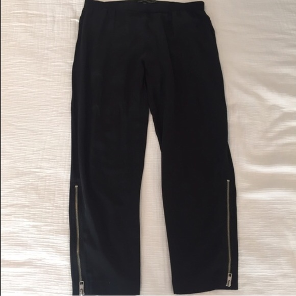 eb90120a5aa All Saints Pants - All Saints Black Silk Pants