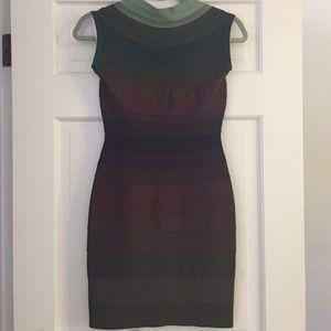 Herve Leger Dresses & Skirts - Stunning Ombré Herve Leger Bandage Dress NWT!!