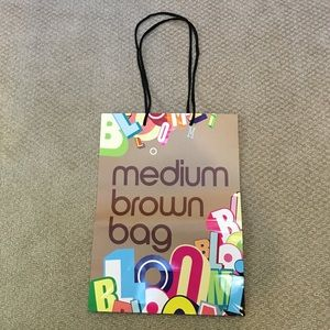 Limited Edition Bloomingdale's shopping bag