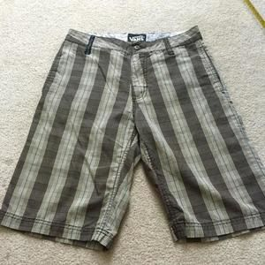 Vans Other - Vans plaid shorts