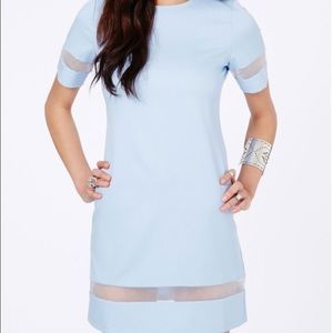 Missguided + Dresses & Skirts - Misguided baby blue dress brand new with tags