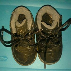 Black 5c Jordan's