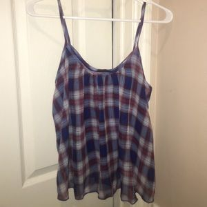 Wet Seal Tops - Plaid top