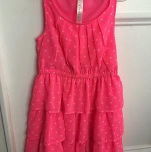 Cherokee (Target) Other - Adorable pink dress with white polka dots.
