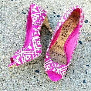 Christian Siriano Shoes - ⬇⬇Chistian Siriano🌟Pink Pumps