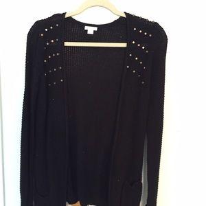 Xhilaration Sweaters - Black cardigan