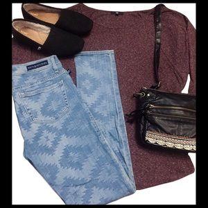Rock & Republic Berlin Aztec Skinny Jeans- 4