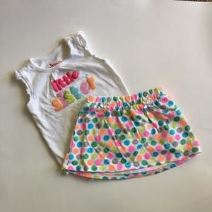 Circo (Target) Other - Onesie skirt set