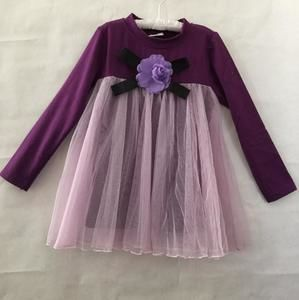Other - *brand new* tulle flower dress purple