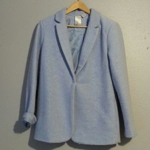 FOREVER 21 BOUNCE LIGHT BLUE COAT JACKET