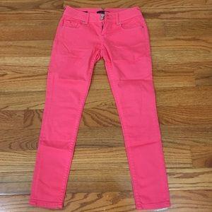 Vigoss Denim - 🆑Vigoss Hot Pink Skinny Jeans Sz 28