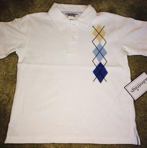 Hartstrings Other - Kitestrings White & Harlequin Polo