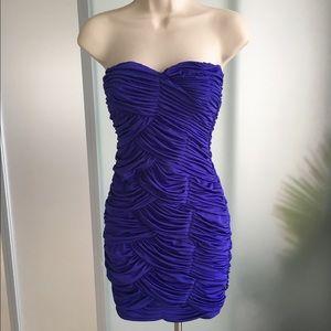 Boutique Strapless Cocktail Dress