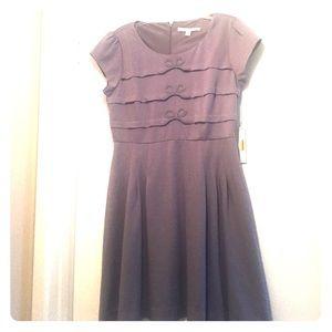 LC Lauren Conrad Gray Dress