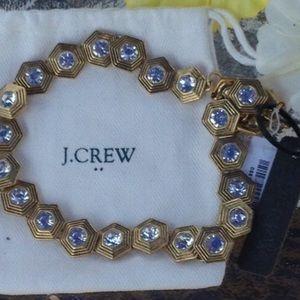 NWOT J.Crew Crystal Necklace