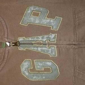 Baby Gap Shirts & Tops - Baby Gap Zip-Up Hoodie, size 2T