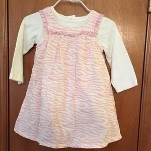 Gymboree pink zebra dress