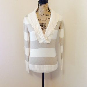 { Banana Republic} Striped sweater!