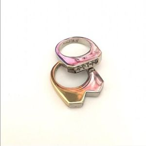 Jewelmint Jewelry - Jewel Mint Tough Love Knuckle Rings